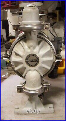 Warren Rupp Sandpiper 1 Flanged Air Operated Double Diaphragm Plastic Pump