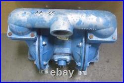 Warren Rupp Sandpiper S20b1agtans100 Aluminum Air & Flow 2 Npt Diaphragm Pump