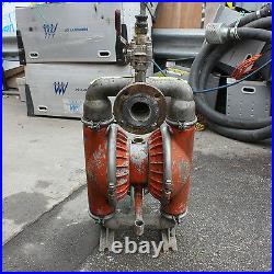 Wilden 08-5000-01 2 air operated double diaphragm pump stainless steel & PTFE