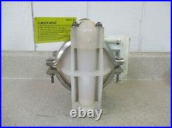 Wilden 3/4 Air Diaphragm Pump (plastic) #114236g Used