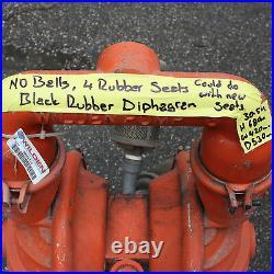 Wilden 8 08-5000-01 2 air operated double diaphragm pump aluminium body