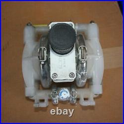 Wilden Pro-Flo Pump air operated PNEUMATIC double diaphragm POLYPROPYLENE 1/2