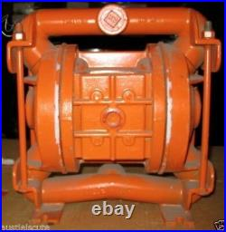 Wilden Stainless Steel 1 Air Diaphragm Pump M2 Fluoro Diaphragms M2-ST-TF-TF-SS