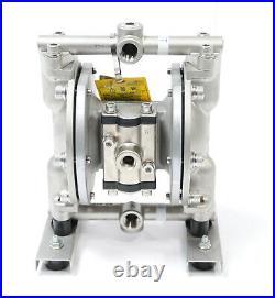 Yamada DP-10BST Air Powered Double PTFE Diaphragm AODD Pump 3/8 Stainless Steel