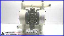 Yamada Ndp-20bpn-pp, Air Operated Double Diaphragm Pump, 854095 #281239