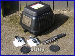 Yamitsu Hi-Flow Professional Pond Air Pump Airpump Hydrophonics (koi, filter)